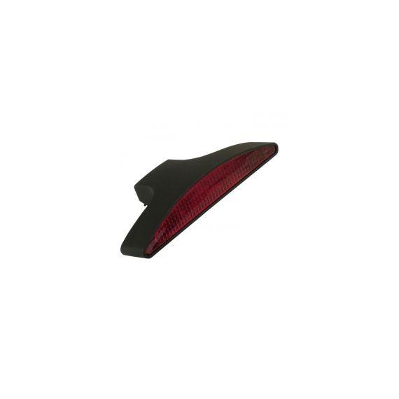 Fanale posteriore stealth nero lente rossa