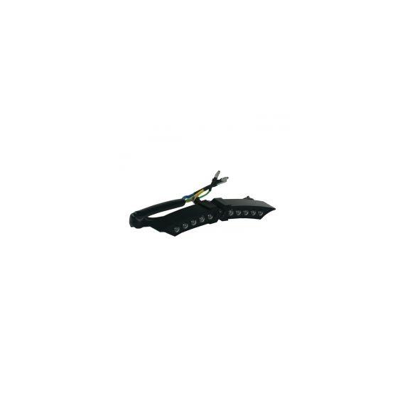 Fanale posteriore xwing mini nero