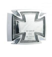 Fanale posteriore gothic cromato lente trasparente