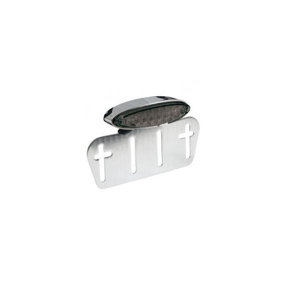 Fanale posteriore lpl mini cromato lente fumè