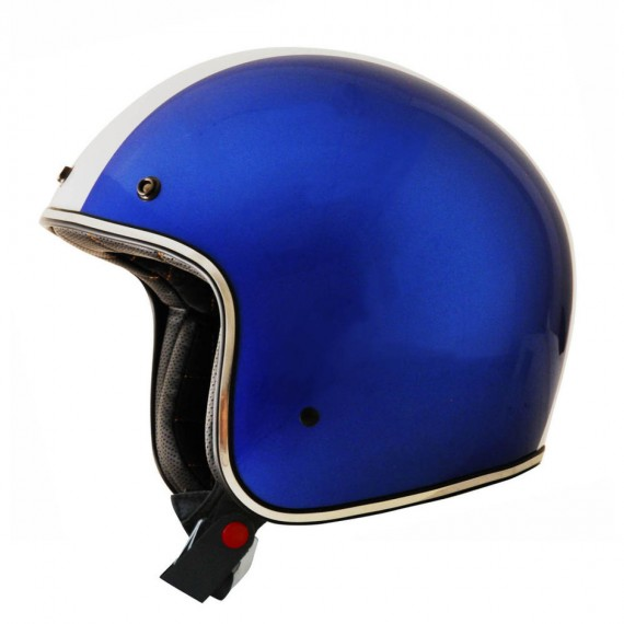 Casco Jet AFX blu shelby Lucido