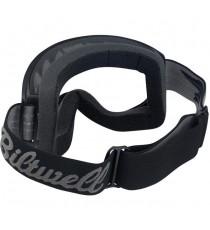 Maschera moto Biltwell script black Moto 2.0
