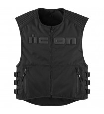 Gilet Icon Brigand Stealth D30 nero