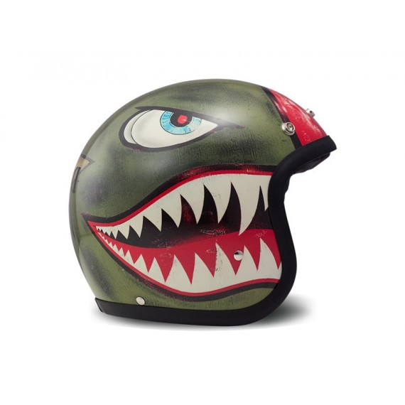 Casco Dmd Jet Vintage Shark