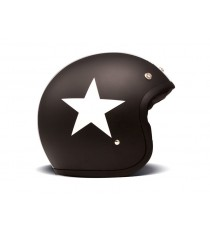 Casco Dmd Jet Vintage Star Black