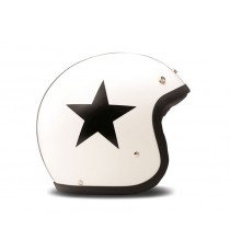 Casco Dmd Jet Vintage Star White