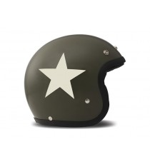 Casco Dmd Jet Vintage Star Green