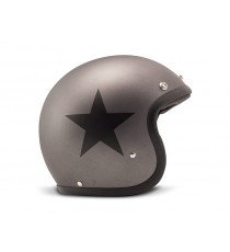 Casco Dmd Jet Vintage Star Grey