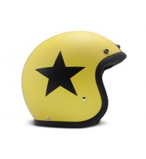Casco Dmd Jet Vintage Star Yellow