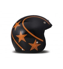 Casco Dmd Jet Vintage Stunt Orange