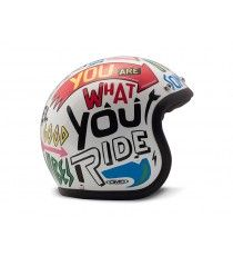 Casco Dmd Jet Vintage Words