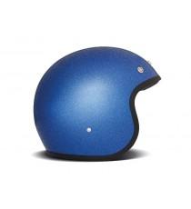 Casco Dmd Jet Vintage Blu Glitter