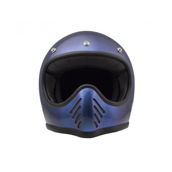 Casco integrale Dmd Seventy-five metallic-blue