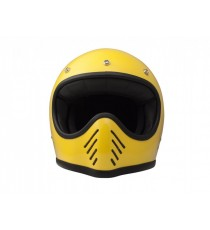 Casco integrale Dmd Seventy-five yellow