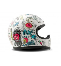 Casco integrale Dmd Racer-tribal