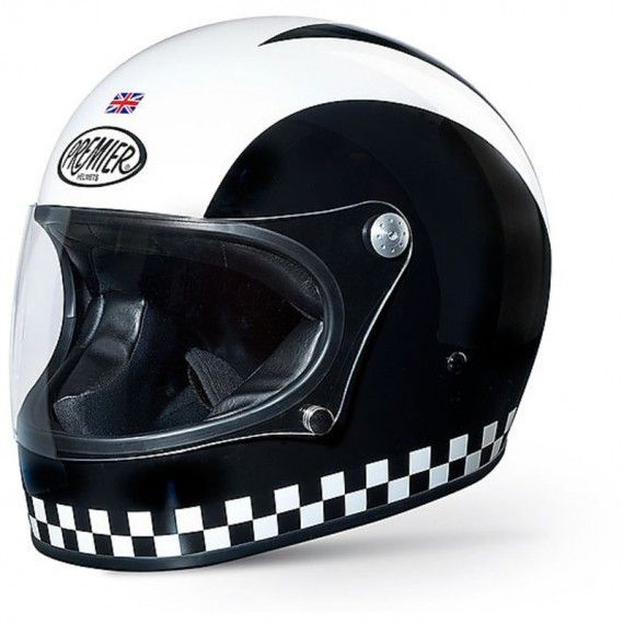 Casco integrale Premier Trophy retrò