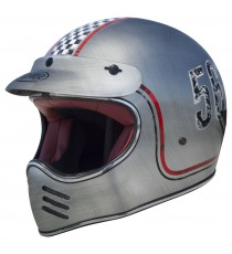 Casco integrale Premier Mx fl chrome old style