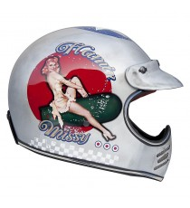 Casco integrale Premier Mx pin up old style