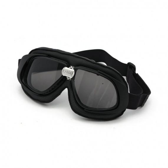 Maschera moto Bandit classic nera lente fumè