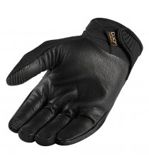 Guanti Icon 1000 Anthem2 stealth touchscreen in pelle nera