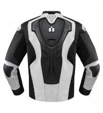 Giubbotto moto Icon 1000 Hypersport Prime Hero bianco