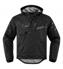 Giubbotto moto Icon 1000 Pdx2 Waterproof nero