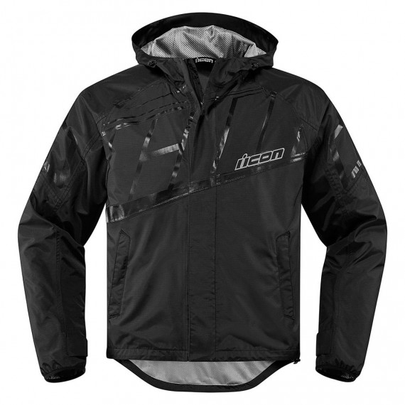 Giubbotto moto Icon 1000 Pdx2 Waterproof nero