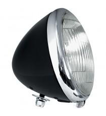 Faro anteriore Oem Style Springer 1936 – 1957 6V nero anello cromato