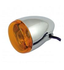 Freccia alogena cromata Chris Products Bullet Oem Style Mount B Lente Ambrata