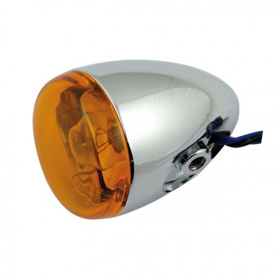 Freccia alogena cromata Chris Products Bullet Oem Style Mount C Lente Ambrata