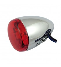 Freccia alogena cromata Chris Products Bullet Oem Style Mount C Lente Rossa