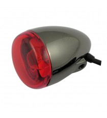 Freccia alogena nera nickel Chris Products Bullet Oem Style Mount A Lente Rossa