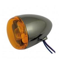 Freccia alogena nera nickel Chris Products Bullet Oem Style Mount B Lente Ambrata