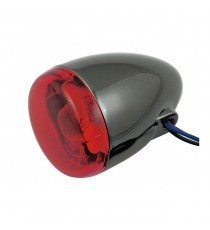 Freccia alogena nera nickel Chris Products Bullet Oem Style Mount B Lente Rossa