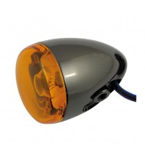 Freccia alogena nera nickel Chris Products Bullet Oem Style Mount C Lente Ambrata