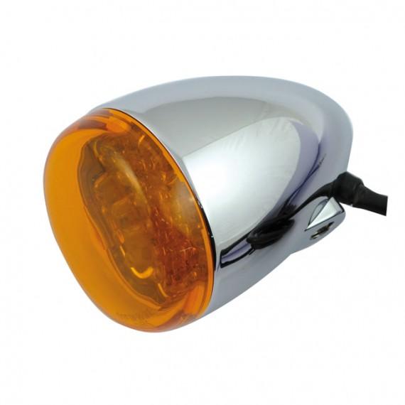 Freccia led cromata Chris Products Bullet Oem Style Led Ambrato