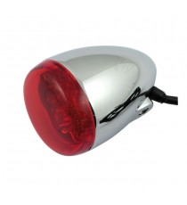 Freccia led cromata Chris Products Bullet Oem Style Led Rosso