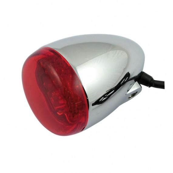Freccia led cromata Chris Products Bullet Oem Style Led Rosso