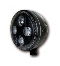 "Faro Anteriore 5 ¾"" Atlanta Nero LED"