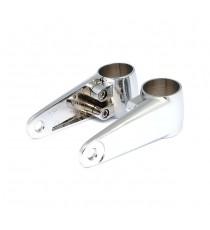 Staffe di montaggio Alluminio Lucidato per Faro Anteriore 35/39/41mm