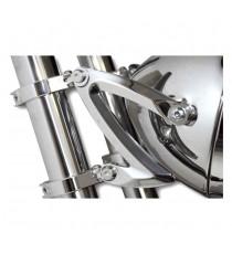 Kit Staffe di montaggio Faro Anteriore Z-Style Cromate 42/43mm