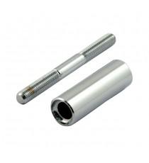 Perno di montaggio cromato per Frecce Chris Products Bullet Oem Style Mount Stud