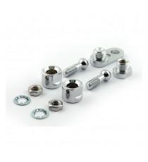 Kit di montaggio manubrio cromato per Frecce Chris Products Bullet Oem Style Mount A