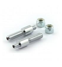 Perni di montaggio cromato per Frecce Chris Products Bullet Oem Style Mount B 5/8