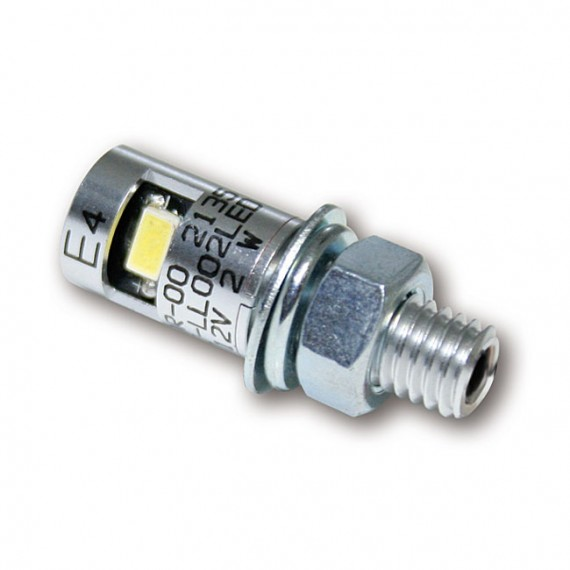 Luce Targa LED Burdett Cromata