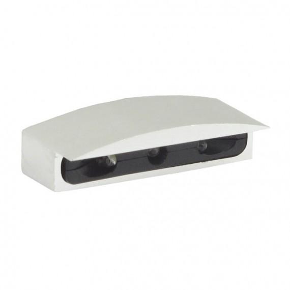 Luce Targa Micro LED Cromata
