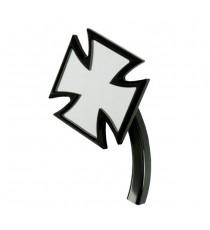 Specchietto retrovisore KT Croce Maltese FLT Softail Nero SX