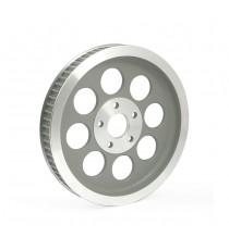 Puleggia trasmissione ruota posteriore 61 denti Shovel – Big Twin Silver