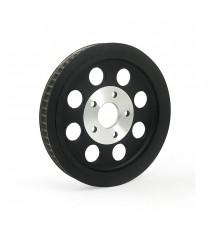 Puleggia trasmissione ruota posteriore 65 denti Shovel – Big Twin Black