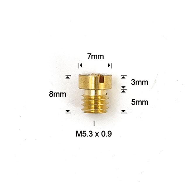 Getto del massimo calibro 125 per carburatori Mikuni EBC
